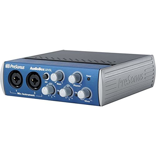 PreSonus Audiobox 22VSL USB 2.0 Recording System from PreSonus