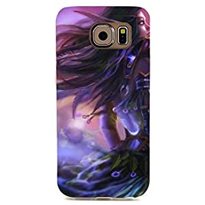 Fairy Lady Style World of Warcraft Phone Case Cover for Samsung Galaxy S6 Edge