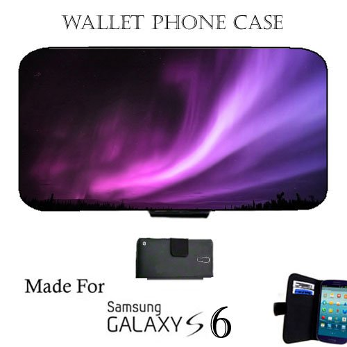 aurora-borealis-fabric-samsung-galaxy-s6-wallet-cell-phone-case-cover-great-gift-idea