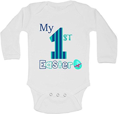 Mois Garçon nbsp;my « 9 nbsp;» Easter First Manches Longues 12 Blanc Body qIPfExW