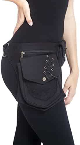 Practical Fannypack Cotton Waistbag Travel Utility Travel Belt