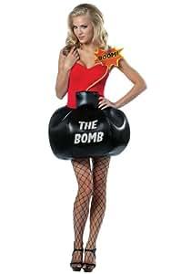 Disfraz bomba para mujer