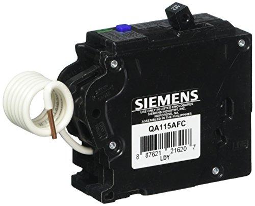 - Siemens Circuit Breaker Arc Fault 15 Amp 120 V Cd