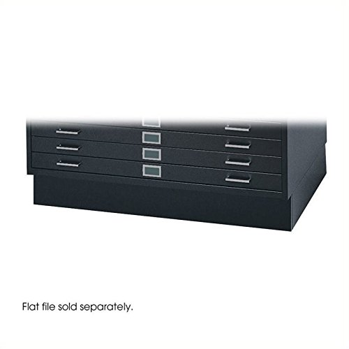 Safco Products 4995BLR Flat File Closed Base for 5-Drawer 49