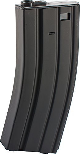 - Evike - Matrix 150rd Metal Mid-Cap Magazine for M4 / M16 Series Airsoft AEG Rifles by CYMA