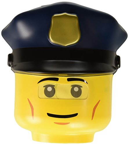 Disguise Lego Police Officer Mask, One Size -