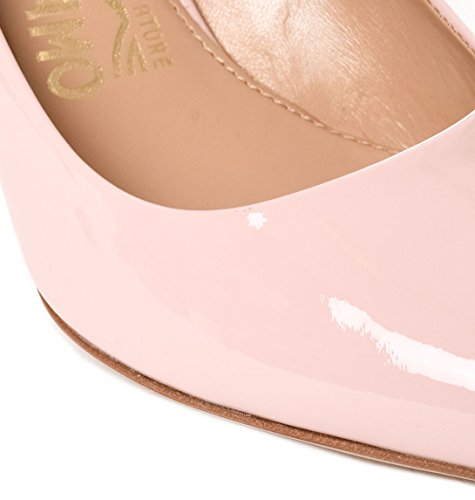 Patent Ferragamo Salvatore Leather Pink 7001L435655478 Women's Pumps BzxZ4xI