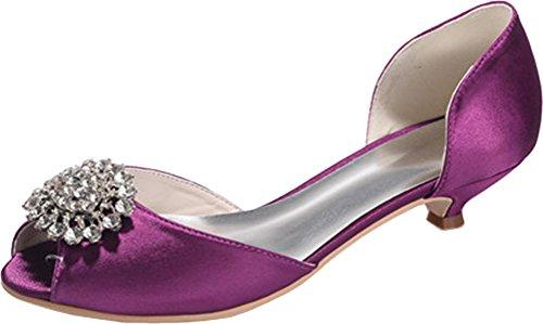 Bout Femme Violet Violet CFP Ouvert 36 5 7RnWfqf