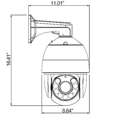 Ventech Ptz Camera Outdoor Analog Cctv Pan Tilt Zoom 30x Sony