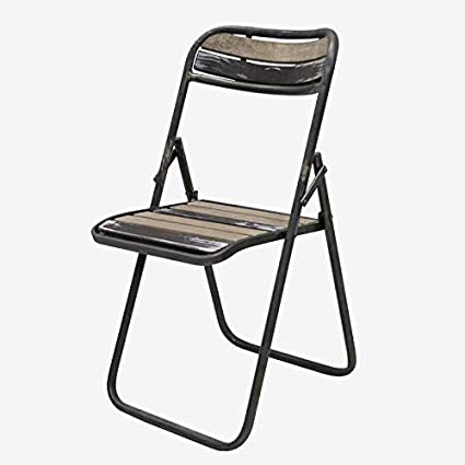 Better & Best Silla Plegable Hierro Industrial, Medidas ...