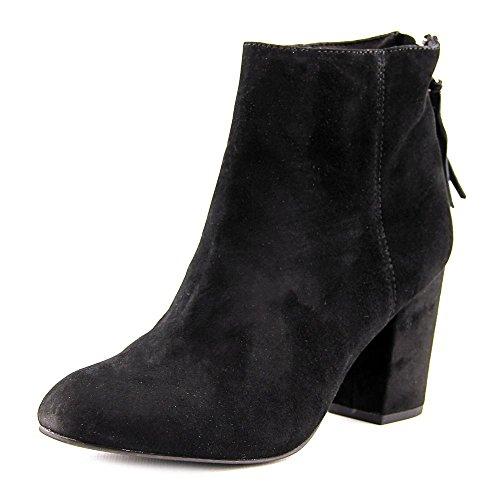 Steve Madden Frauen CYNTHIA Geschlossener Zeh Leder Fashion Stiefel Black Suede