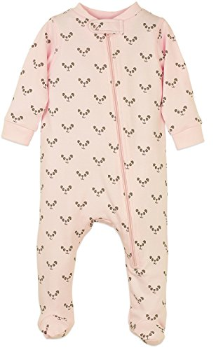 lothes Pima Cotton Long Sleeve Zipper Sleep 'N Play Footie Coverall Romper ()