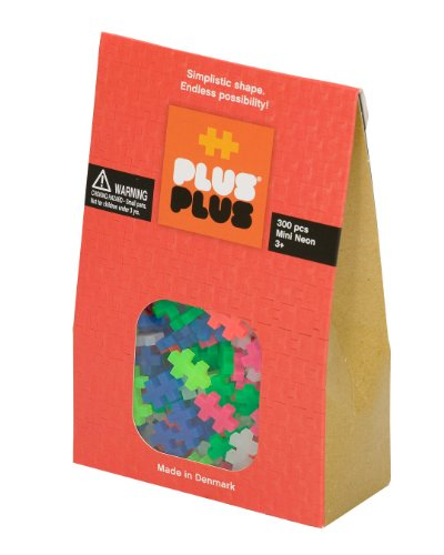 Plus Pieces (Plus-Plus 300-Piece Neon Assortment)