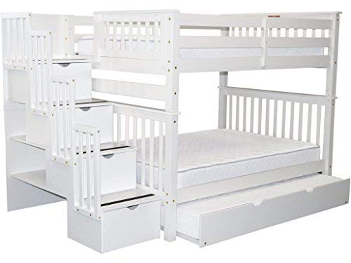 Bedz-King-Stairway-Bunk-Beds-Full-over-Full-with-4-Drawers-in-the-Steps-and-a-Twin-Trundle-White