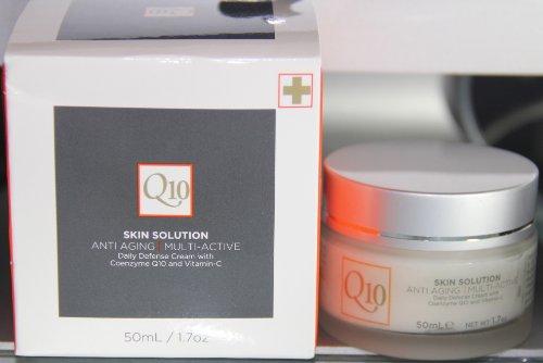 Q10 Skin Solution Anti-Aging Multi-Active Daily Defense Cream 1.7 Oz.