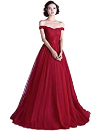 Amazon.com: Off the Shoulder - Prom & Homecoming / Dresses ...