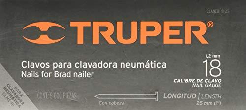 Truper CLNEU-2-25, Clavo para Clavadora Neumática, 1'