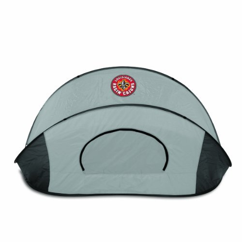 NCAA Louisiana Ragin Cajuns Manta Portable Pop-Up Sun/Wind Shelter by Picnic Time by PICNIC TIME