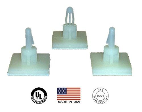 Adhesive Locking PCB Standoffs 24 pack (0.145