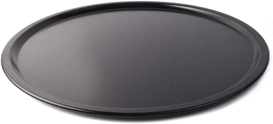 ODDIER Nonstick Pizza Pan Carbon Steel Pizza Tray Pie Pans (13inch)
