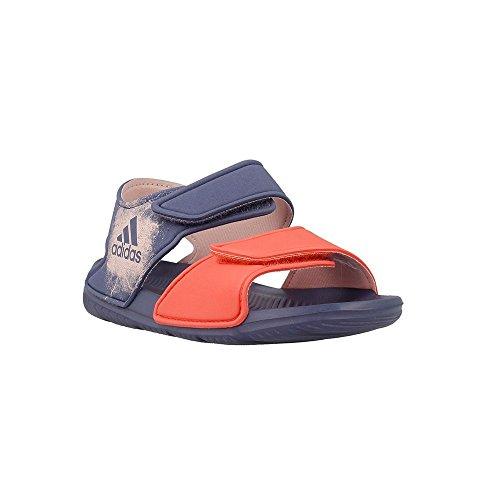 Adidas - Altaswim - BA9287 - Color: Black-Grey-Red - Size: 12.0 by adidas