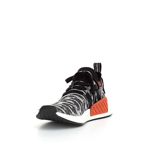 adidas Nmd_r2 Pk, Zapatillas de Deporte Unisex Adulto Negro (Negbas/Negbas/Ftwbla)