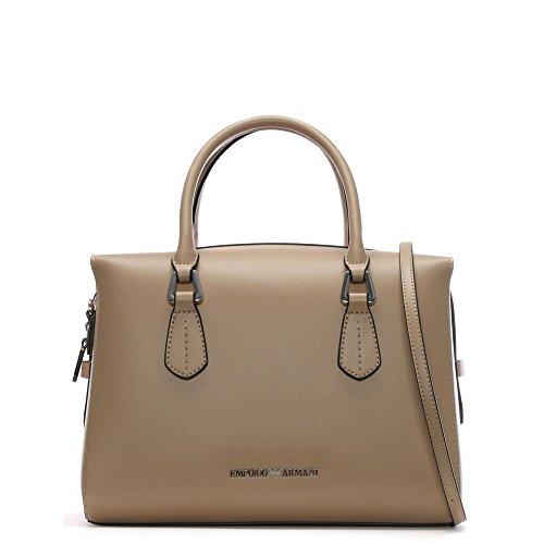 Emporio Armani Wilma Beige Top Zip Day Bag - Buy Online in Oman ... b35a95ec7b751