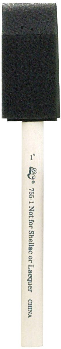 Loew-Cornell Foam Brush, 1-Inch, Pack of 50