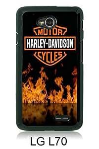 Recommended Design Phone Case Harley Davidson 8 Black Best Popular Sale LG L70 Case