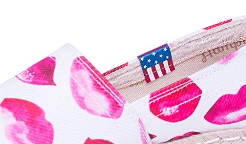Mujer Para Alpargatas Hamptons Miss Rosa Lipstick xqYznwI