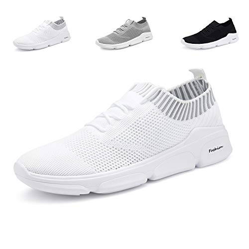 7abed647 ANTETOKUPO Mens Running Shoes Mesh Sport Knitted Lightweight Casual Walking  Shoes Fashion Sneakers Athletic Shoes for