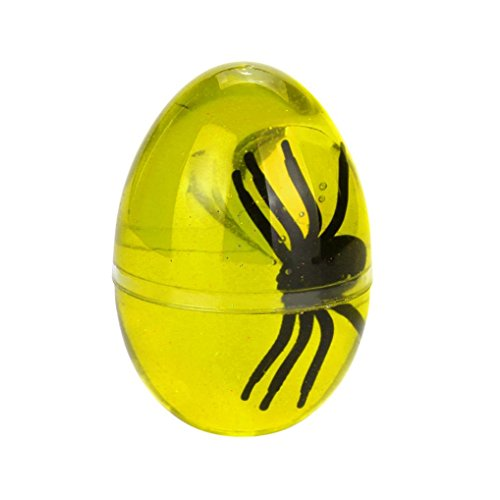 Fiaya Egg Spider Soft Crystal Slime Scented Stress Relief Sludge Toys (Yellow)