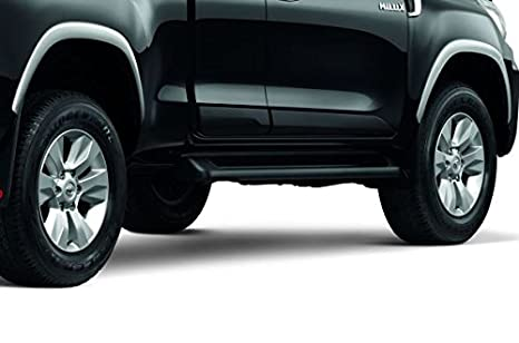 4 x 4 Over alineación de las ruedas Fender Genuino Toyota Hilux Rocco prerunner PP plata: Amazon.es: Coche y moto