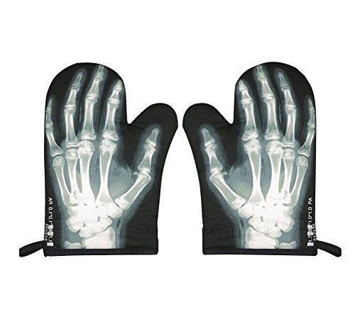 Heat insulation gloves/Oven Mitts, X-Ray Perspective (Pair)