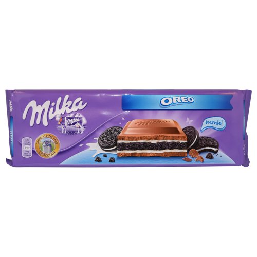 Milka Chocolate Oreo, Large Bar 300g (Oreo)