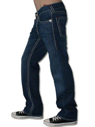 TRUE RELIGION Herren Designer Jeans Hose - BOBBY SUPER T -32