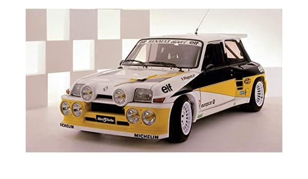 Amazon.com: Lilarama USA 1979 1984 Renault 5 Turbo V4 - Canvas Art Print - Wall Art - Canvas Wrap: Posters & Prints