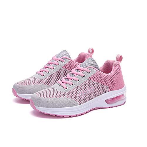 Fitness Grey Guqi Degli Leggere Nuove Unisex Trainer Allenamento Traspiranti Scarpe Da Jogging Sportive pink Urti Corsa Leggero Assorbimento HACqSwH