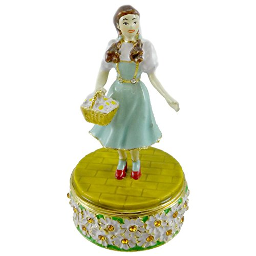 Wizard Of Oz Jeweled Boxes - Wizard Of Oz Dept. 56 Dorothy Jeweled Box