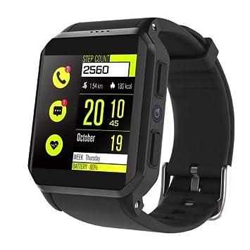 Smartwatch kw06 Impermeable IP68 3 G SIM Card Pulsómetro podómetro ...