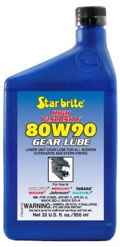 Star Brite 80W 90 High Viscosity Lower Unit Gear Lube (32-Ounce) by Star brite