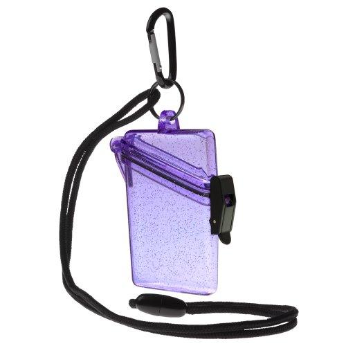 Witz 04009 Purple Glitter Waterproof Case product image