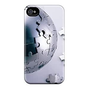 Hot Snap-on Ball Hard Covers Cases/ Protective Cases For Iphone 4/4s