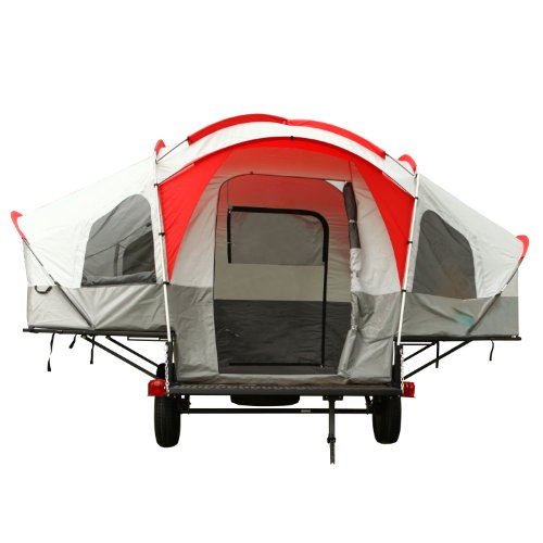 Amazon.com  Lifetime Deluxe Tent Trailer Kit (Grey/Red)  Pop Up C&er  Sports u0026 Outdoors  sc 1 st  Amazon.com & Amazon.com : Lifetime Deluxe Tent Trailer Kit (Grey/Red) : Pop Up ...