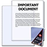 BCW 8.5 x 11 - Document Topload Holder - 25 Holders per Pack (Quantity of 100)