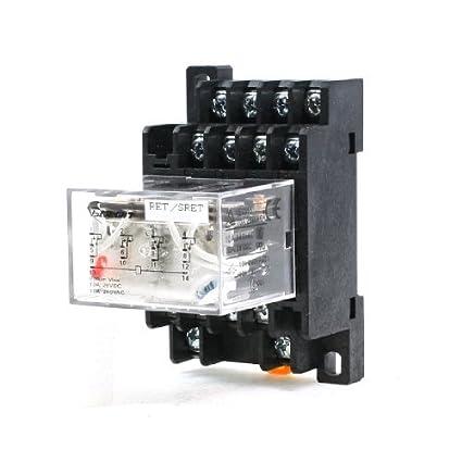 Power Relay Propósito eDealMax CA 220V Coil 3PDT 14P LY4NJ ...