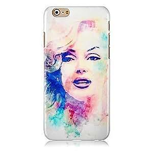 Marilyn Monroe Pattern Hard Back Case for iPhone 6 Plus