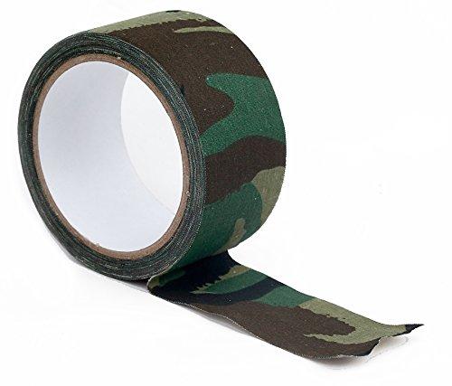 Army DPM telo mimetico tessuto nastro adesivo. 10m x 50mm tape camouflage wildlifephotographyshop mpl21