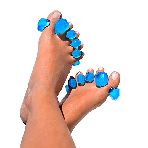 Yoga Shoes For Bunions: YogaToes GEMS: Gel Toe Stretcher & Separator -- Instant