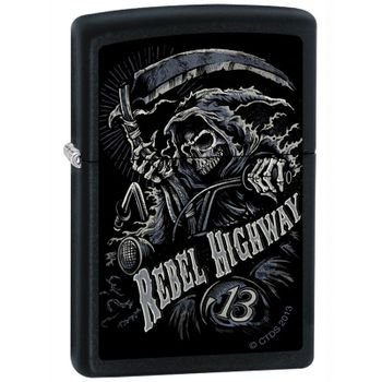Zippo Lighter Custom Art - 3